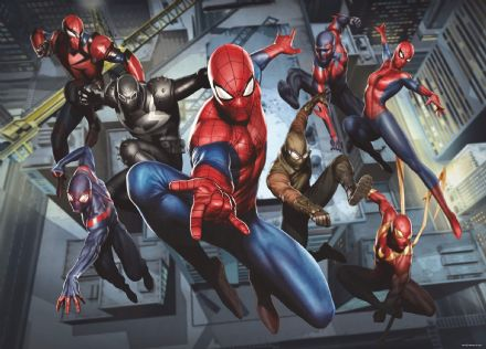 Spider-man mural wallpaper 160x110cm